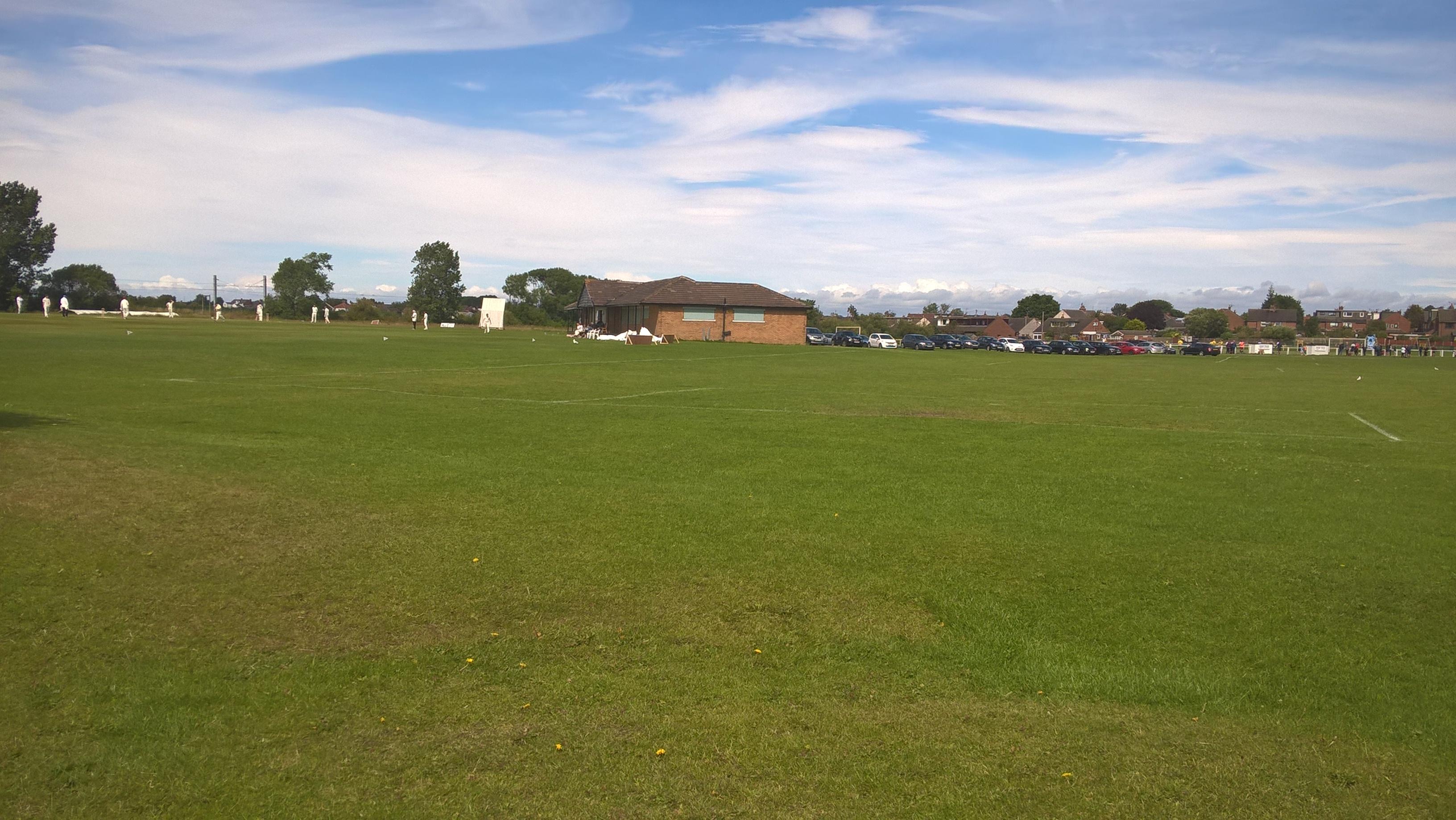 cottam hall playing fields poulton le fylde