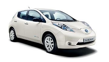 Car Hire Poulton Nissan Leaf